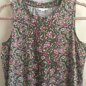 J Jill Floral Dress Small Petite Great Condition